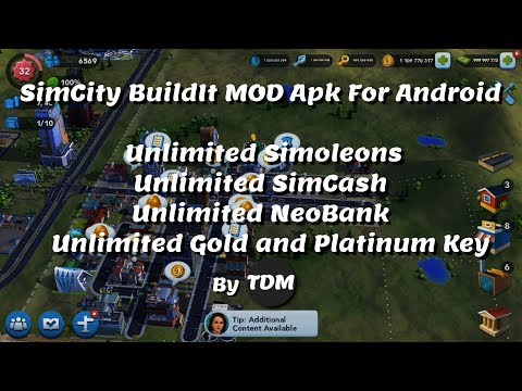 SimCity BuildIt V1.29.3.89288 Mod APK For Android | Unlimited Simoleons,SimCash,NeoBank,Gold,Keys