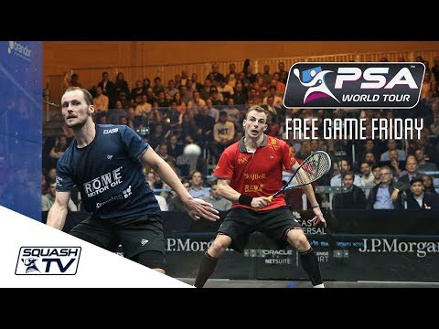 Squash: Free Game Friday - Gaultier v Matthew - Tournament of Champions 2018