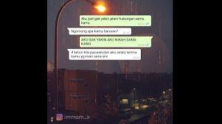 Cerita Sedih Pasangan LDR || Chat Relationship