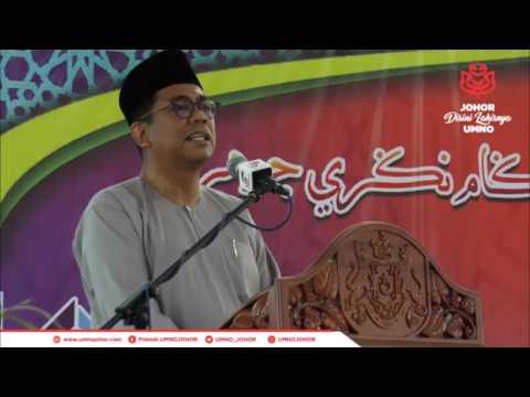 Ucapan MB Johor Sempena Majlis Penyerahan Kunci Bangunan Sekolah Agama Parlimen Ayer Hitam