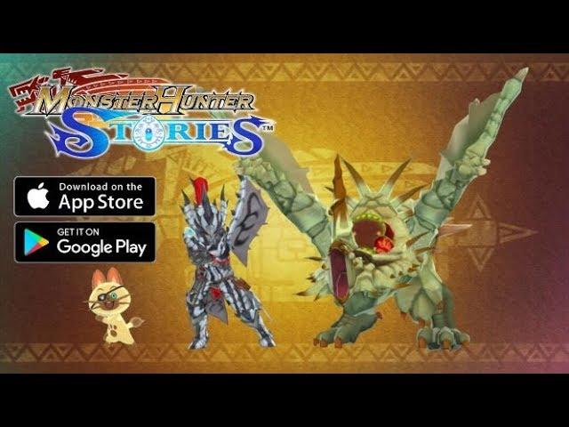 4k Monster Hunter Stories White Monoblos Sand Barioth Special