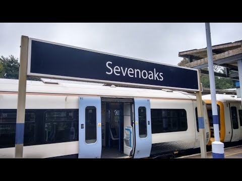 Full Journey on Southeastern from London Charing Cross to Sevenoaks