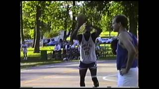 Shawn Kemp Footage The Day After He Was Drafted Into The Nba