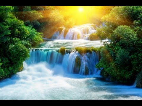 Waterfall time lapse; Relaxing Music; Relaxation music; ambi