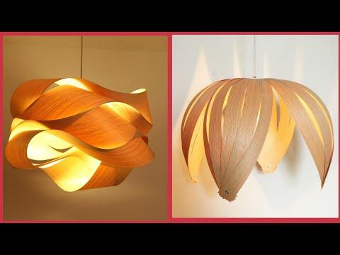 Beautiful Interior Lighting Wooden Lampshade Designs
