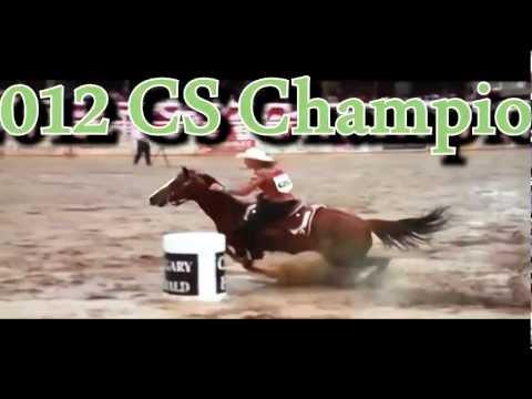 Calgary Stampede 2012 - Ladies Barrel Racing
