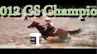 Calgary Stampede 2012 - Ladies Barrel Racing