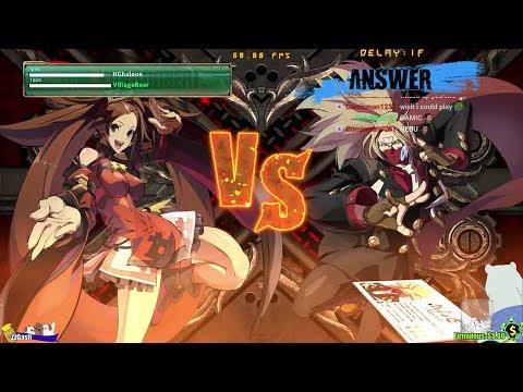 GGXrd Rev 2 Matches (New PC Patch) - Jam (HGhaleon) vs Answer (Villagebear)