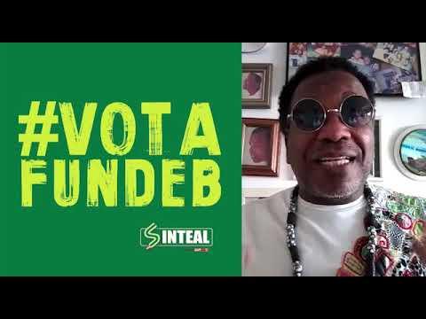 Cantor Igonan Rocha convoca para a luta do #VotaFundeb