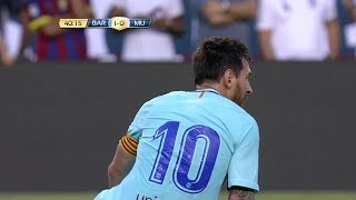 Lionel Messi vs Manchester United (Neutral) 17-18 HD 1080i (27/07/2017) - English Commentary