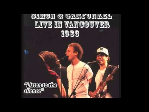 Slip Slidin Away Live In Vancouver 1983 Simon Garfunkel Youtube