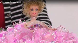 Repeat youtube video Como hacer una Muñeca con Falda de Flores -Bombonera- Hogar Tv  por Juan Gonzalo Angel