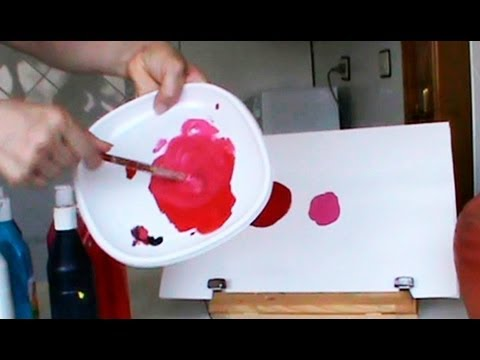 Mezclar colores c mo conseguir diferentes rojos mix colors red youtube - Como hacer blanco roto ...