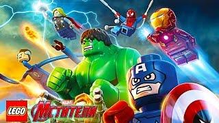 МСТИТЕЛИ ЛЕГО 2 веселая игра для детей прохождение с Кириллом в игре про супер героев Lego Avengers