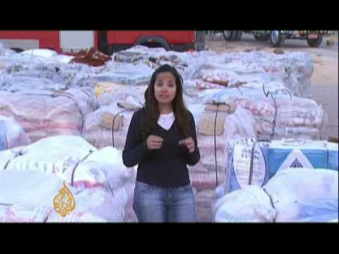 Humanitarian aid trickles into Gaza - 26 Jan 09