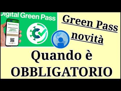 Green Pass OBBLIGATORIO: dove è necessario esibirlo?