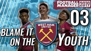 FM19 West Ham Ep 3 - TRAINING AND MENTORING - Football Manager 2019 Let