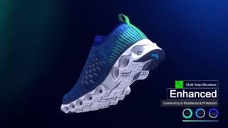 видео Кроссовки Saucony для бега и повседневной носки
