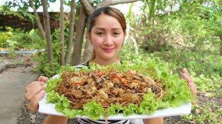Yummy Spicy Chicken Net Stir Fry Recipe  Spicy Chicken Net Cooking  Cooking With Sros