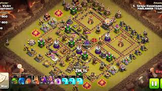 CLASH OF CLANS TH11 VS TH11 ELECTRO DRAGON 3 STAR WORKS 100%