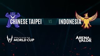 TPE vs. ID | Group Stage Day 3 | AWC 2018