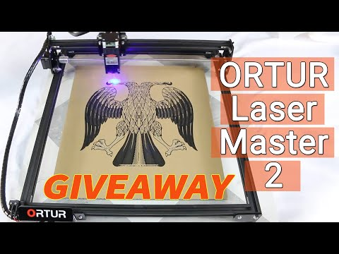 【GIVEAWAY】How to DIY With Upgraded Ortur Laser Master 2? Laser Engraving Test For Different Material