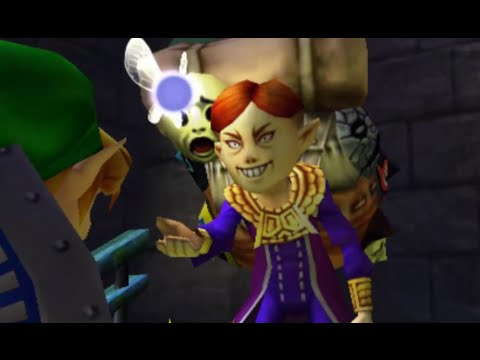 The Legend Of Zelda: Majora's Mask 3D 100% Walkthrough Part 2 - Skull Kid