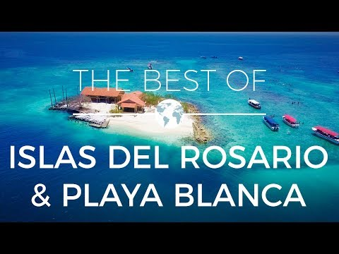 Colombia - The Best of Islas del Rosario & Playa Blanca | Drone Videography 4k