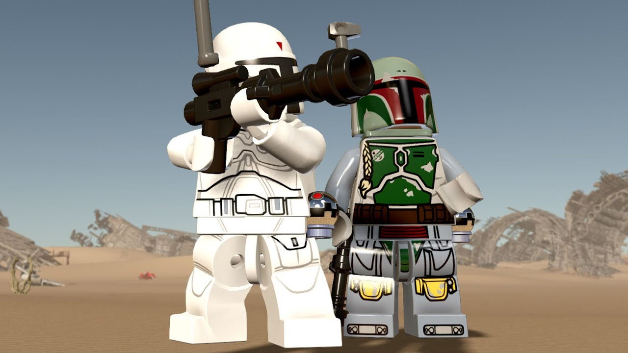 lego star wars: the force awakens - all boba fett characters +