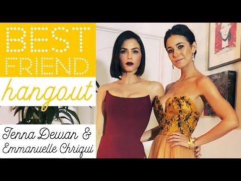 Meet My Best Friend! | Chatting with Emmanuelle Chriqui | Jenna Dewan