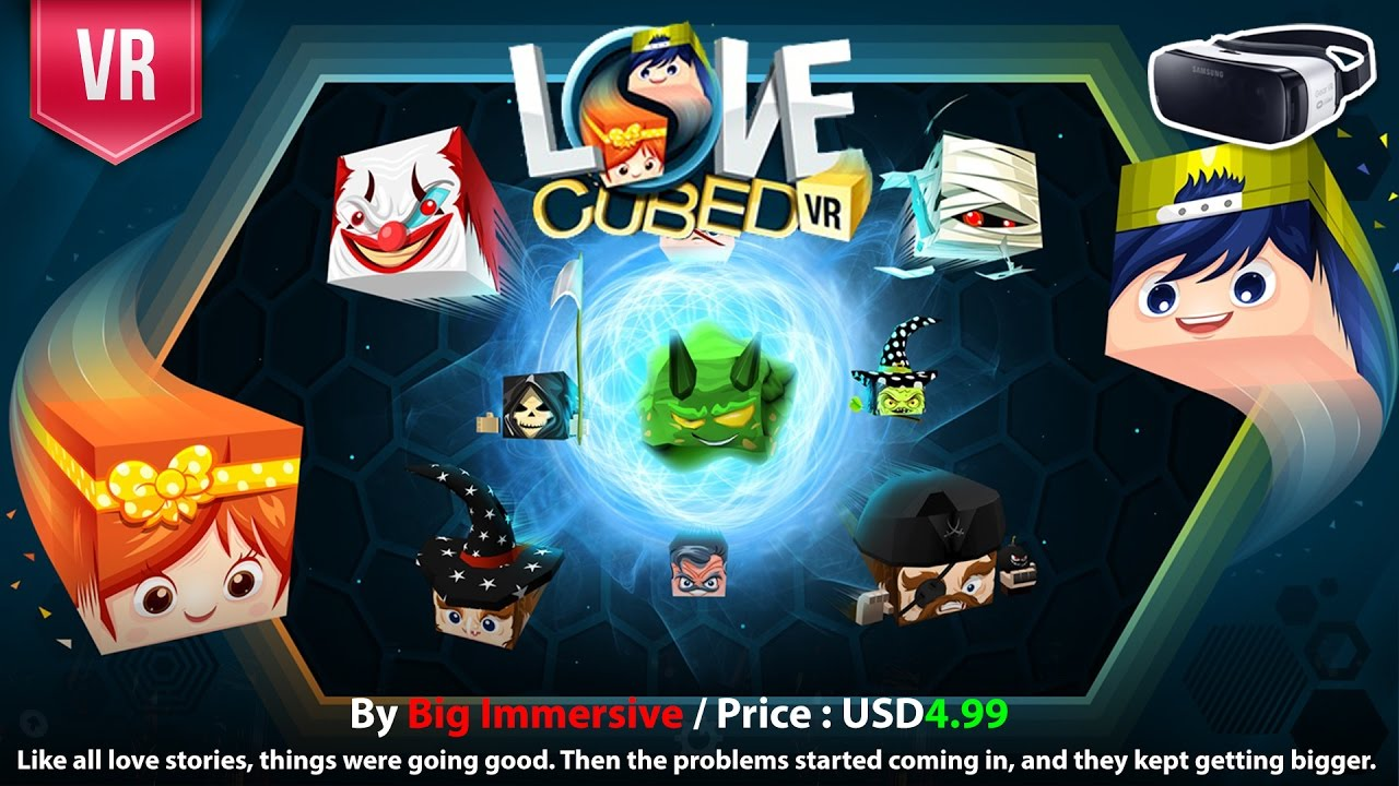 Love Cubed Vr Gear Vr The Question Remains Can You Save Your Loved One Youtube