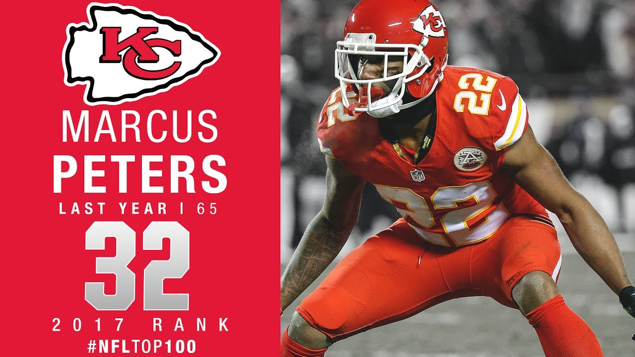 32 Marcus Peters CB Chiefs Top 100 Players of 2017
