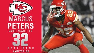 #32: Marcus Peters (CB, Chiefs) | Top 100 Players of 2017 | NFL