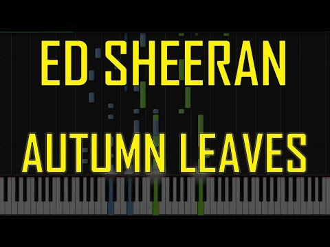 how to play autumn leaves on piano
