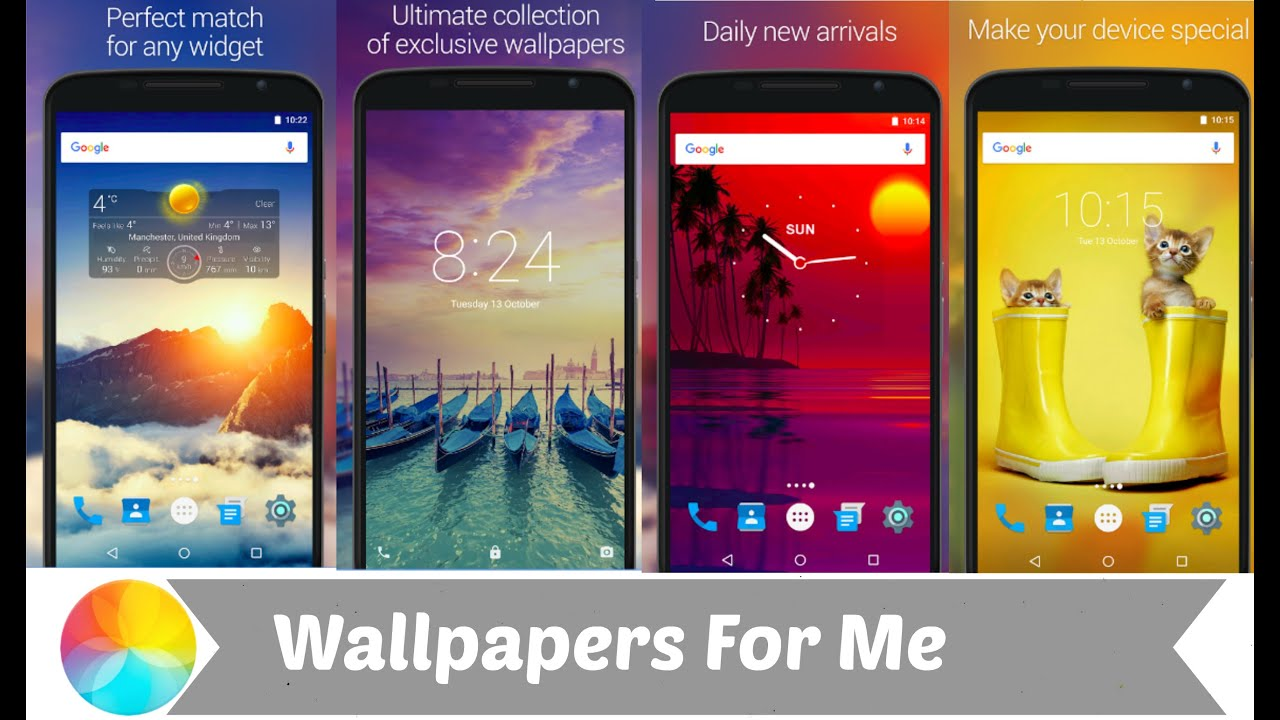 wallpapers for me best wallpaper application for your android phone youtube