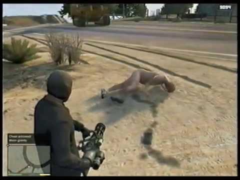 Grand Theft Auto V: I Wish Every Beach Was A Nude Beach