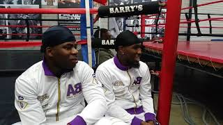 Epic Tank Davis Sparring Session Prelude!Cincy Kings R HILARIOUS