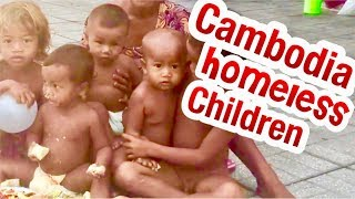 Protect the Children living on the streets in Cambodia Children of  Killing fields
