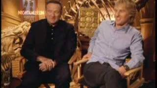 Robin Williams Raps!!!Owen Wilson and Matt Zaller beatbox...