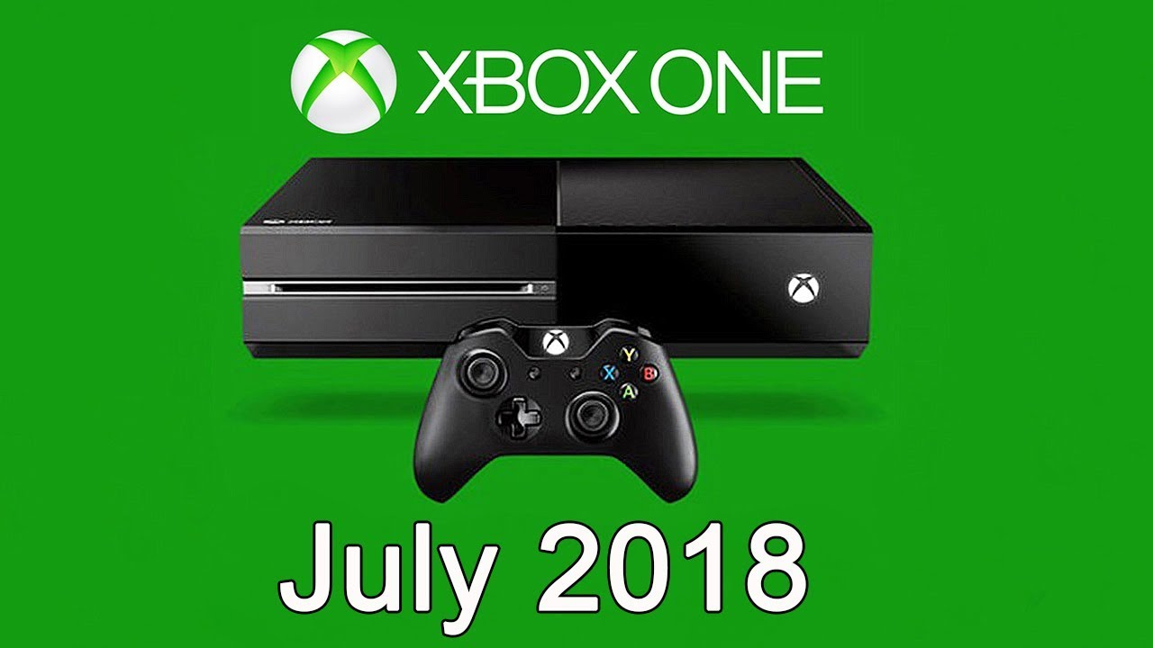 XBOX ONE Free Games - July 2018