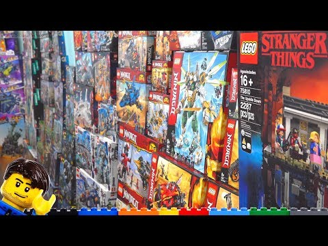 In Review: A Full YEAR Worth Of LEGO 2018-2019