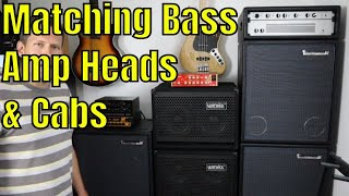 Matching Bass Amp Heads & Cabinets: A Bass Players Guide - Bass Practice Diary - 25th August 2020
