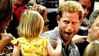 Prince Harry's popcorn swiped by toddler thumbnail