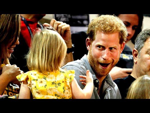 Prince Harrys popcorn swiped by toddler