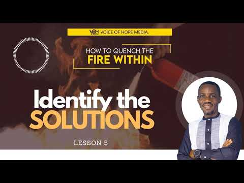 HOW TO MANAGE YOUR ANGER AS A CHRISTIAN   Lesson 5 IDENTIFY THE SOLUTIONS INSTEAD