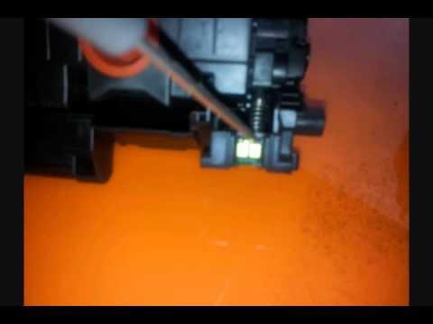 canon 728 MF4410 toner refill - YouTube