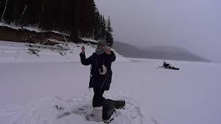 Как Жена обловила меня Рыбалка на окуня