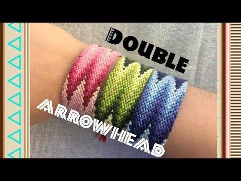 Double Arrowhead Friendship Bracelet Advanced Pattern Alex S Innovations