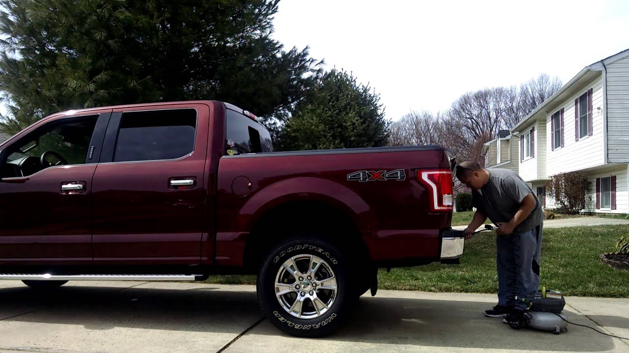 F 150 2015 with Air Lift 5000 Airbags