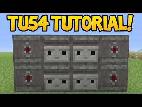 Minecraft (Xbox360/PS3) - TU54 OBSERVER BLOCK! - Tutorial